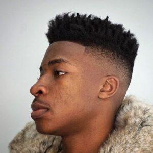 waves haircut black male