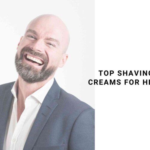 shaving cream for head