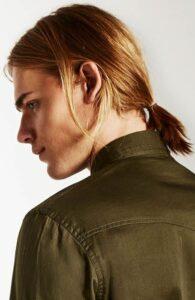 ginger ponytail hairstyles for men