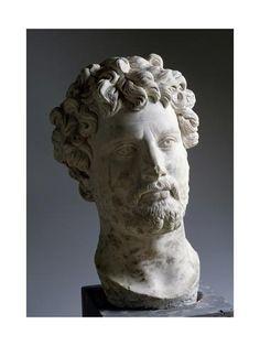 greek statue hair