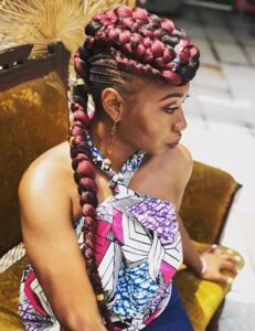 colorful mohawk hairstyles for black women