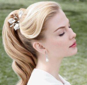 vintage ponytail hairstyles
