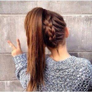 teenage girl ponytail hairstyles