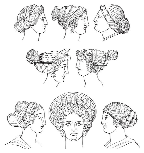 greek hairstyles female