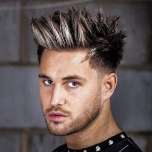 spiky hairstyles for indian men