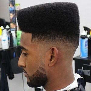 hi top fade hairstyle