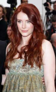 red headed actors female