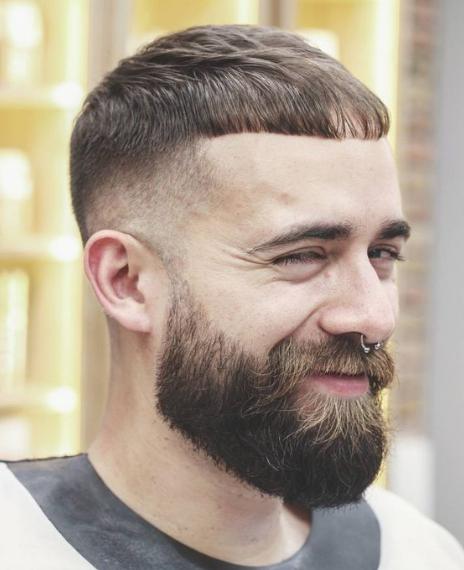 short haircut style for men