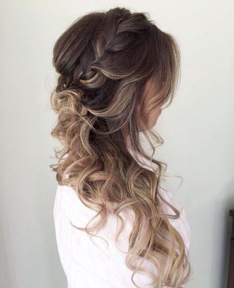 flowy curls for long thin hair