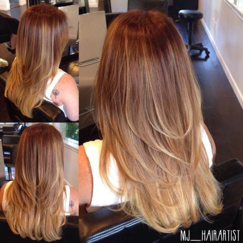 layered hairstyles straight hair