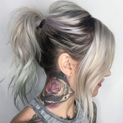 ponytail hairstyles for long thin hair