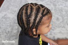 side braids for black boys