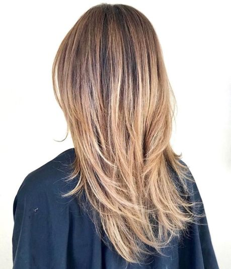 side feather hairstyle for long thin hair