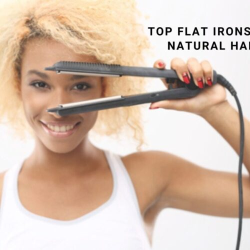 flat iron for natural hair