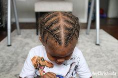 double braids for black boys