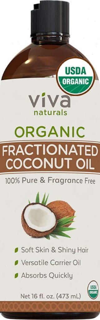 coconut oil for straightening hair