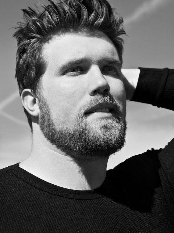 stubble beard style for sensitive skin