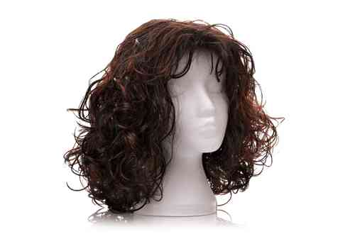 How to straighten synthetic or human hair wig