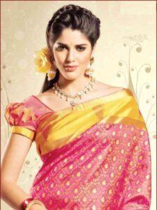 puff hairstyles for indian wedding function