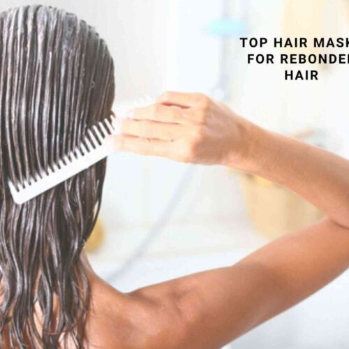 top hair mask for rebonded hair