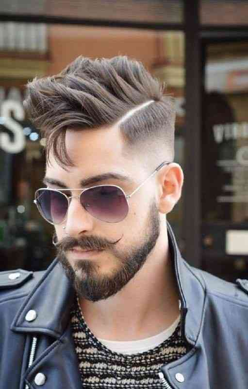 mustache and beard style for sensitive skin