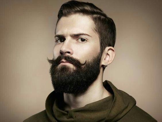 full beard style for sensitive skin