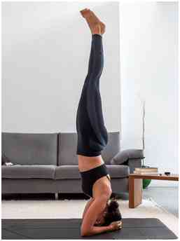 headstand for hair growth