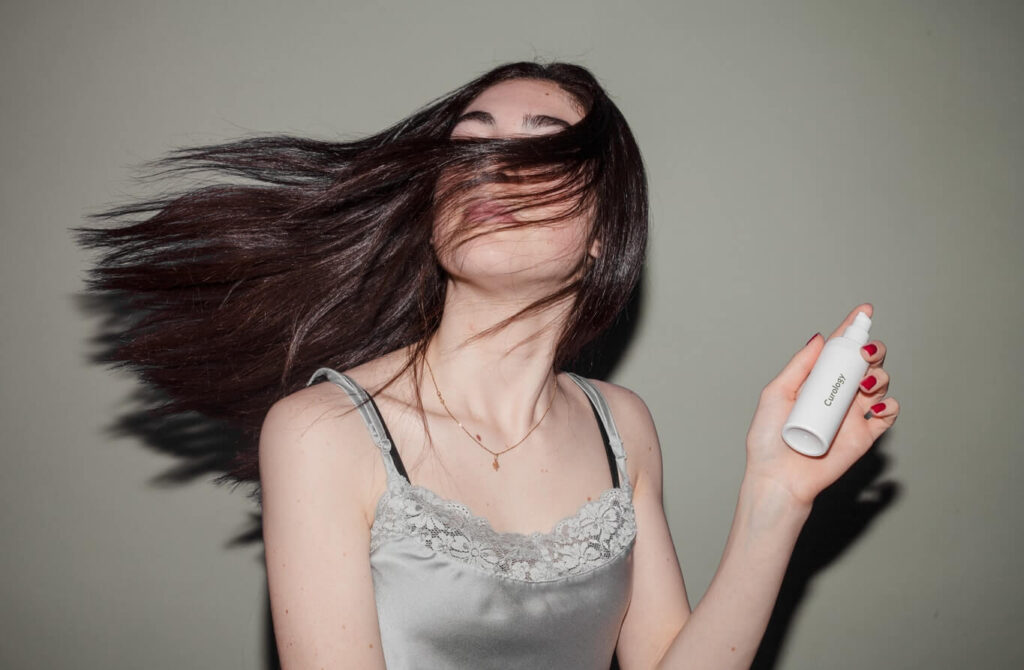 how to fix frizzy hair after blow drying