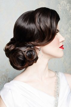 1930s hairstyles for straight hair